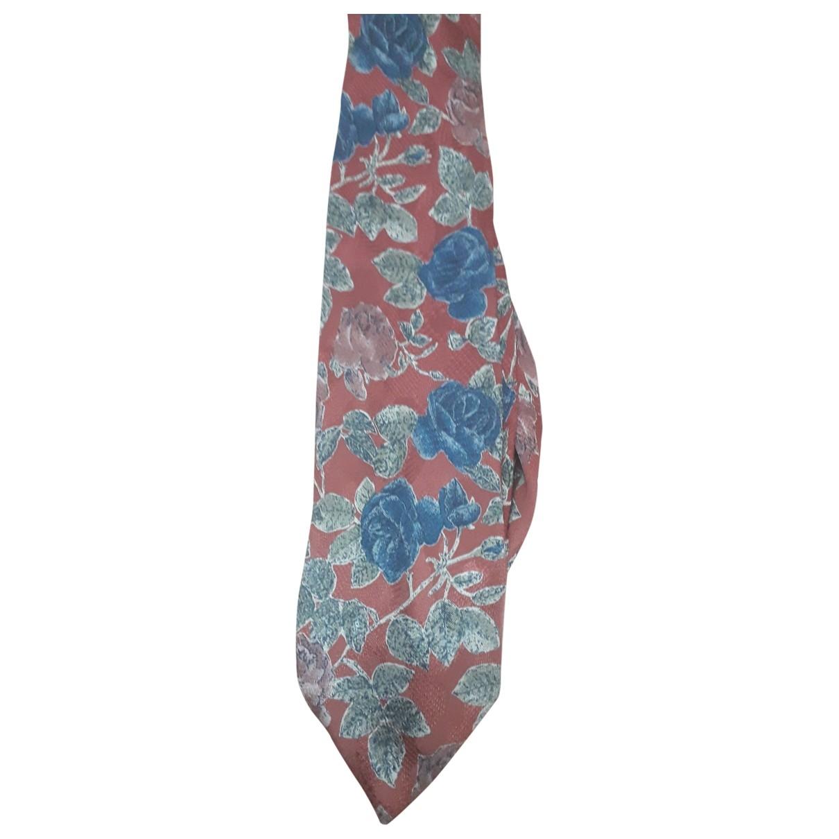 Kenzo \N Red Silk Ties for Men \N