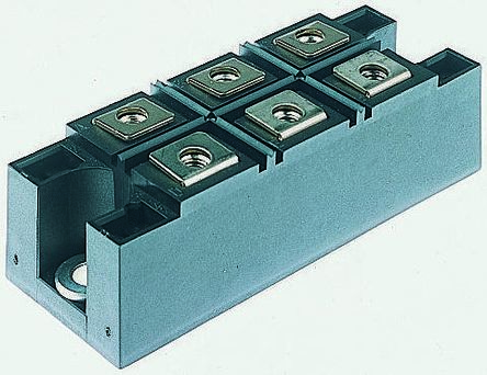 Vishay VS-110MT160KPBF, 3-phase Bridge Rectifier Module, 110A 1600V, 6-Pin INT-A-PAK