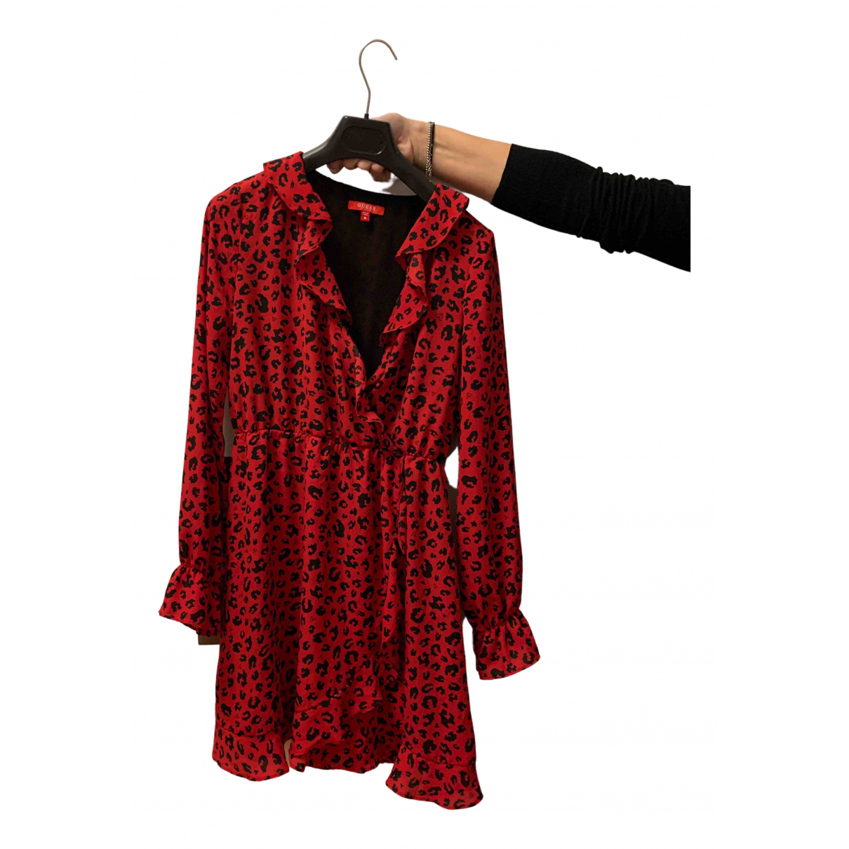Guess - Robe   pour femme - rouge
