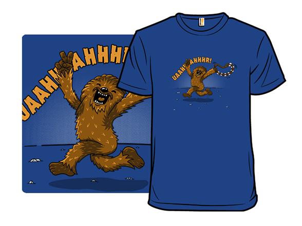 Streaking Wookie T Shirt