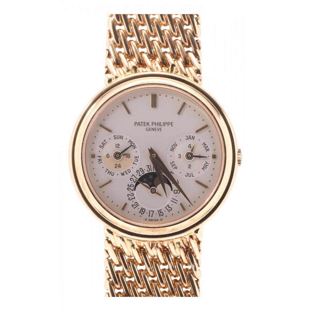 Relojes de Oro amarillo Patek Philippe
