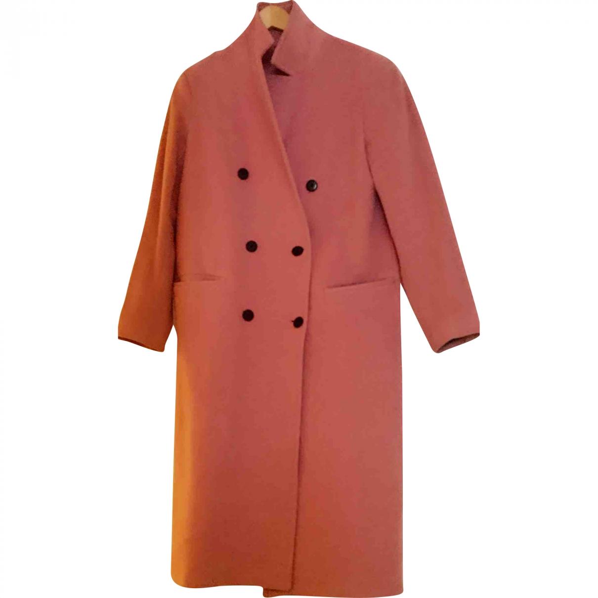 J.lindeberg \N Pink Wool coat for Women 8 UK