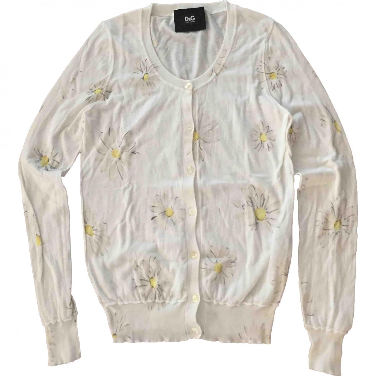 D&g \N Pullover in  Weiss Baumwolle