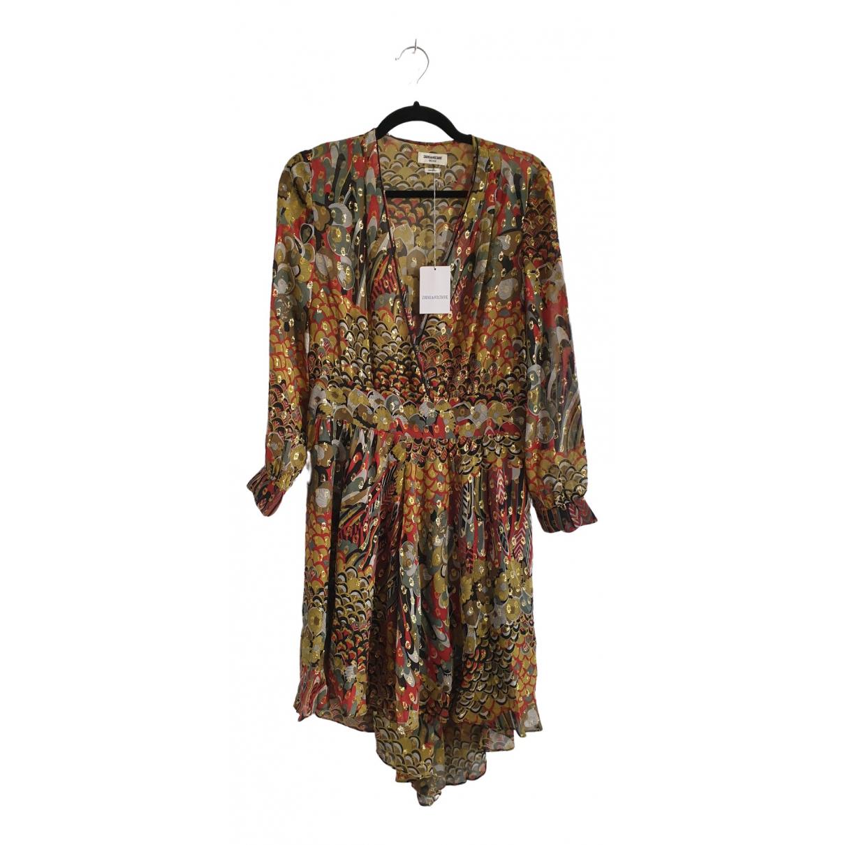 Zadig & Voltaire \N Multicolour Silk dress for Women 36 FR