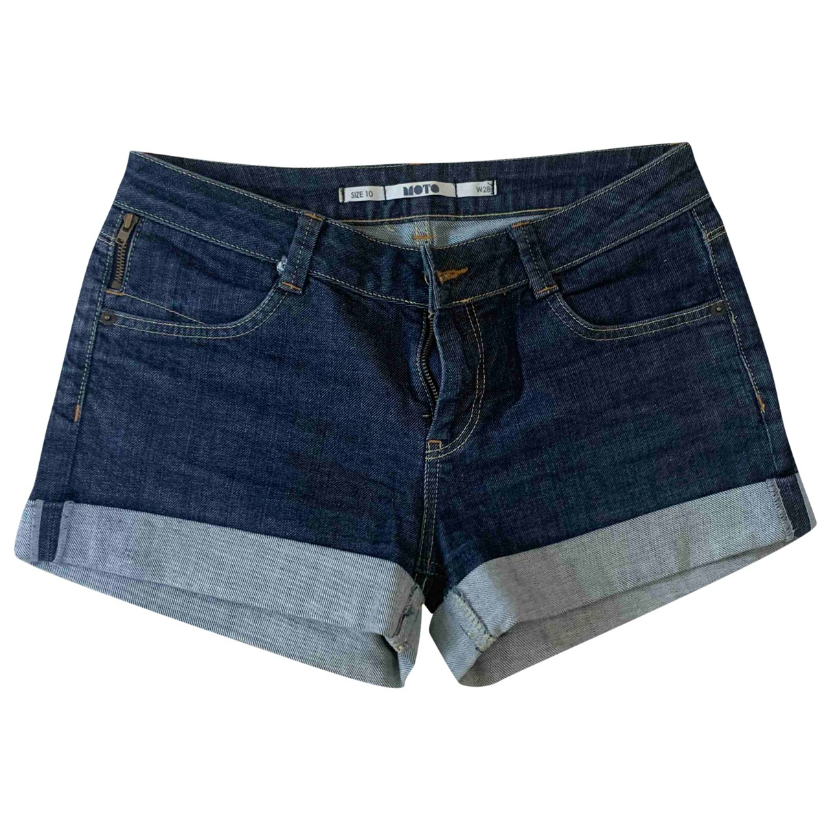 tophop \N Blue Denim - Jeans Shorts for Women 10 UK