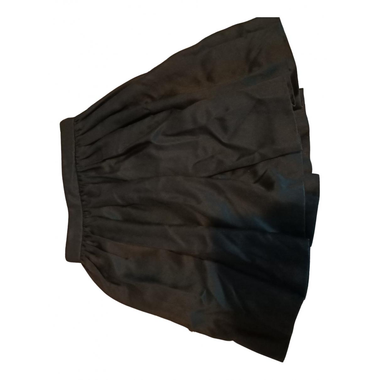 Falda midi de Seda Miu Miu