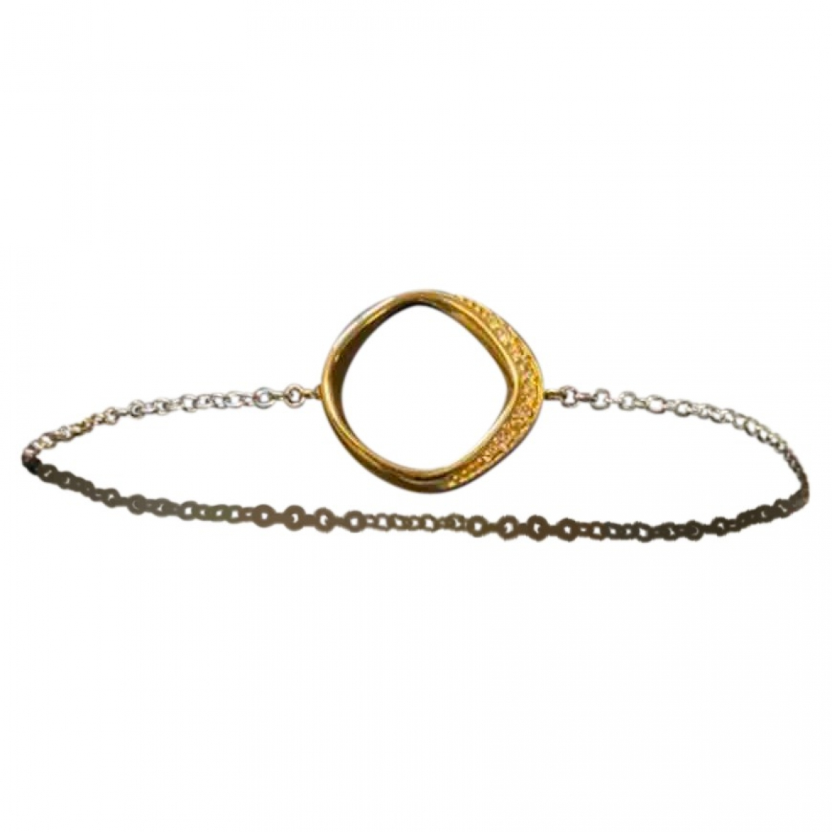 Fossil \N Silver Steel bracelet for Women \N