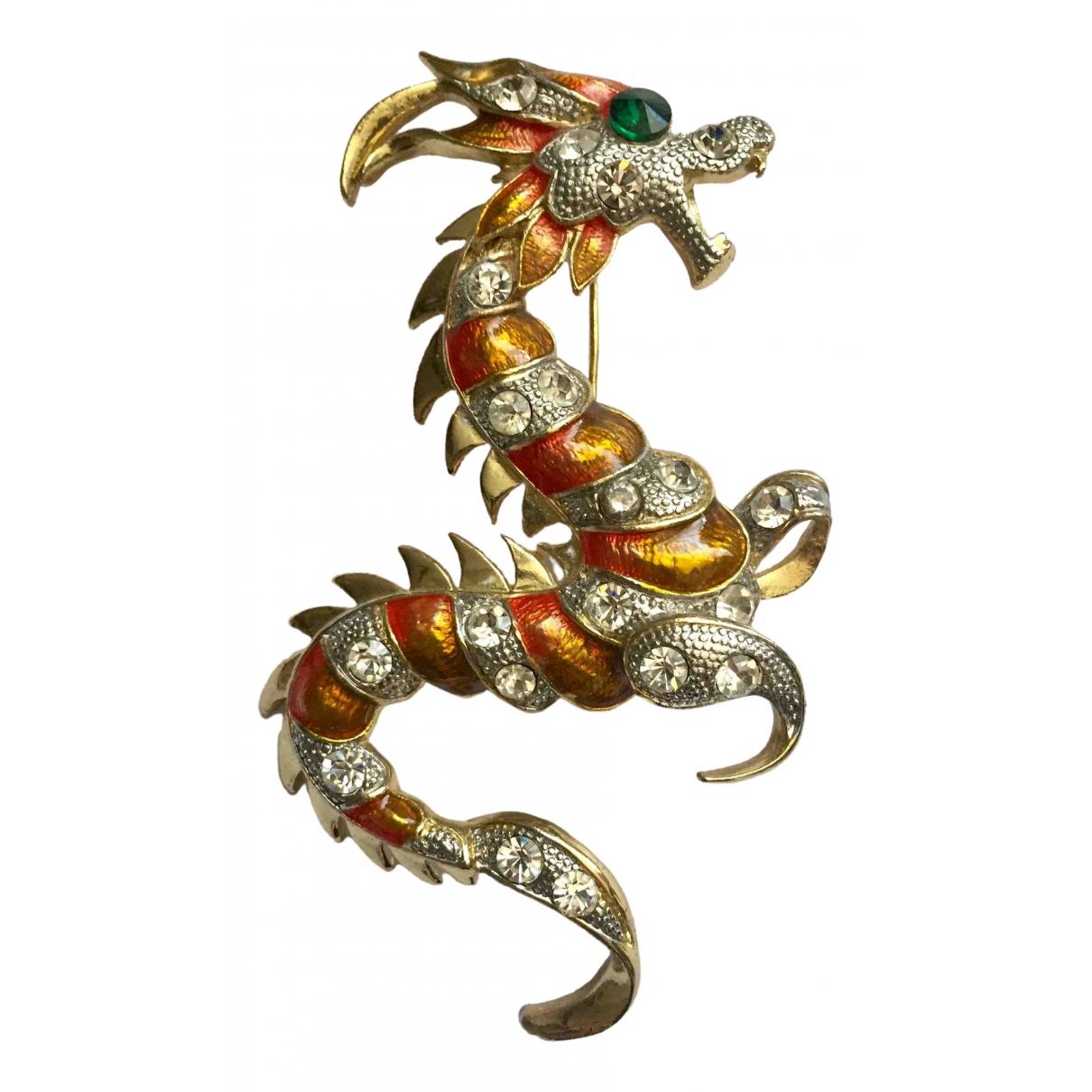 - Broche Motifs Animaliers pour femme en metal - multicolore