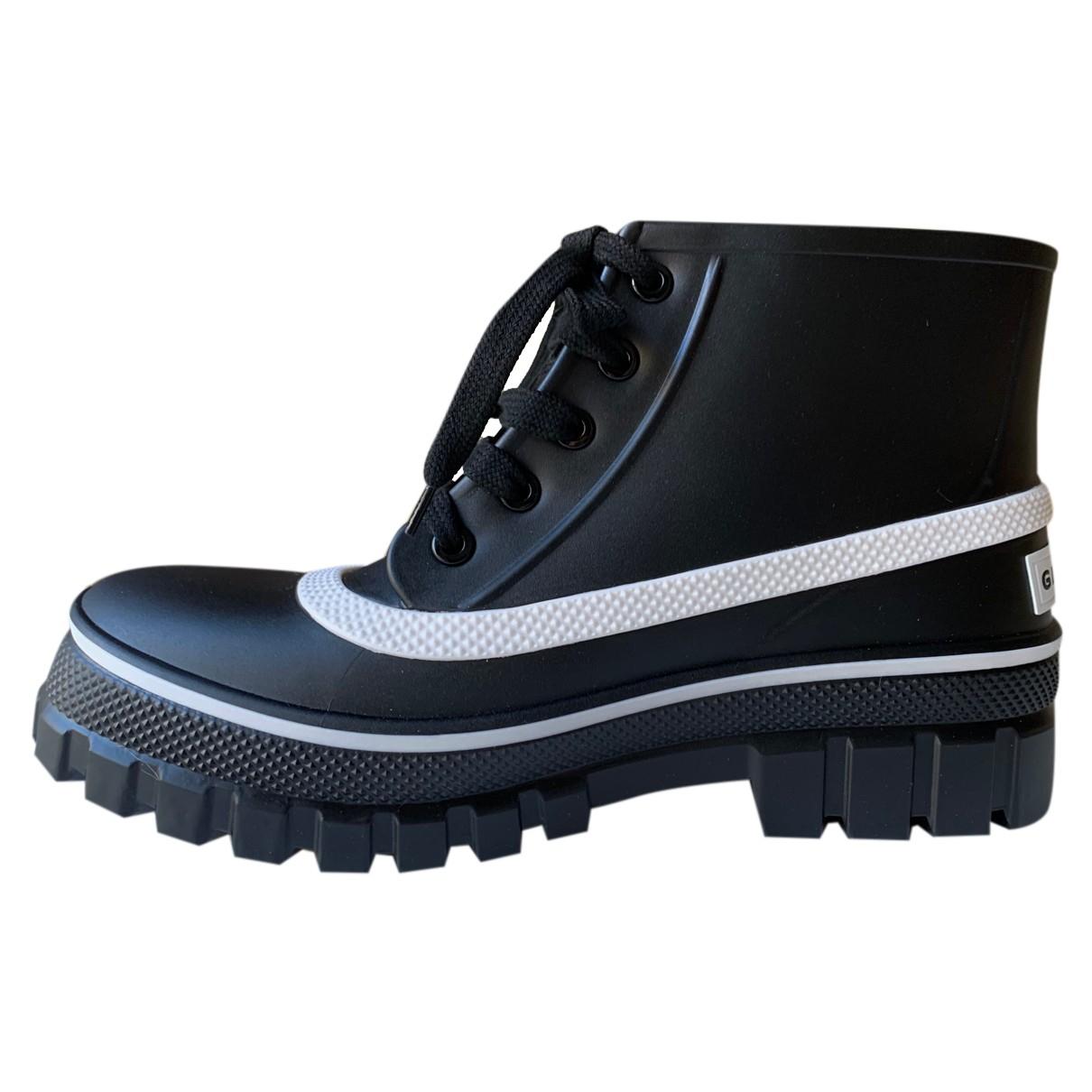 Givenchy - Boots   pour femme en caoutchouc - noir