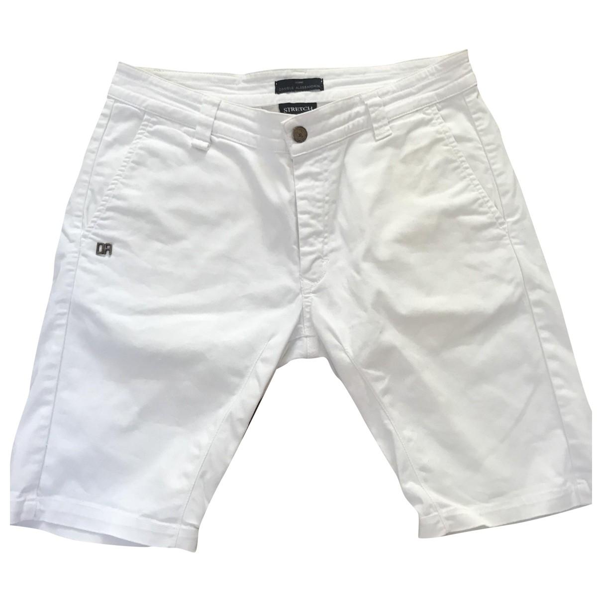 Daniele Alessandrini \N Shorts in  Weiss Baumwolle