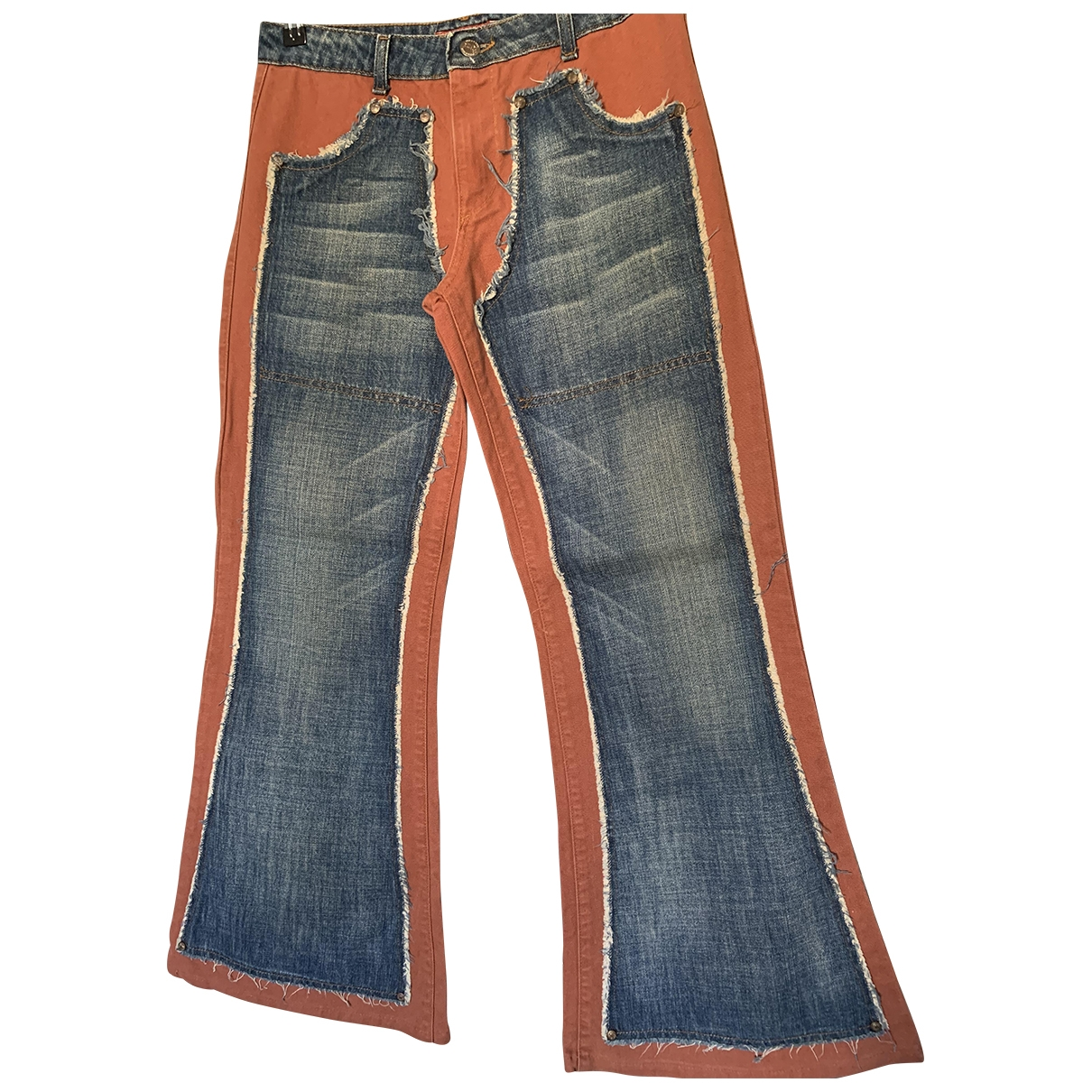 Non Signé / Unsigned \N Cotton Jeans for Women 28 US