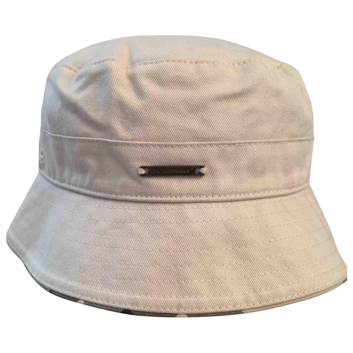 Burberry - Chapeaux.Bonnets.Gants   pour enfant en coton - beige