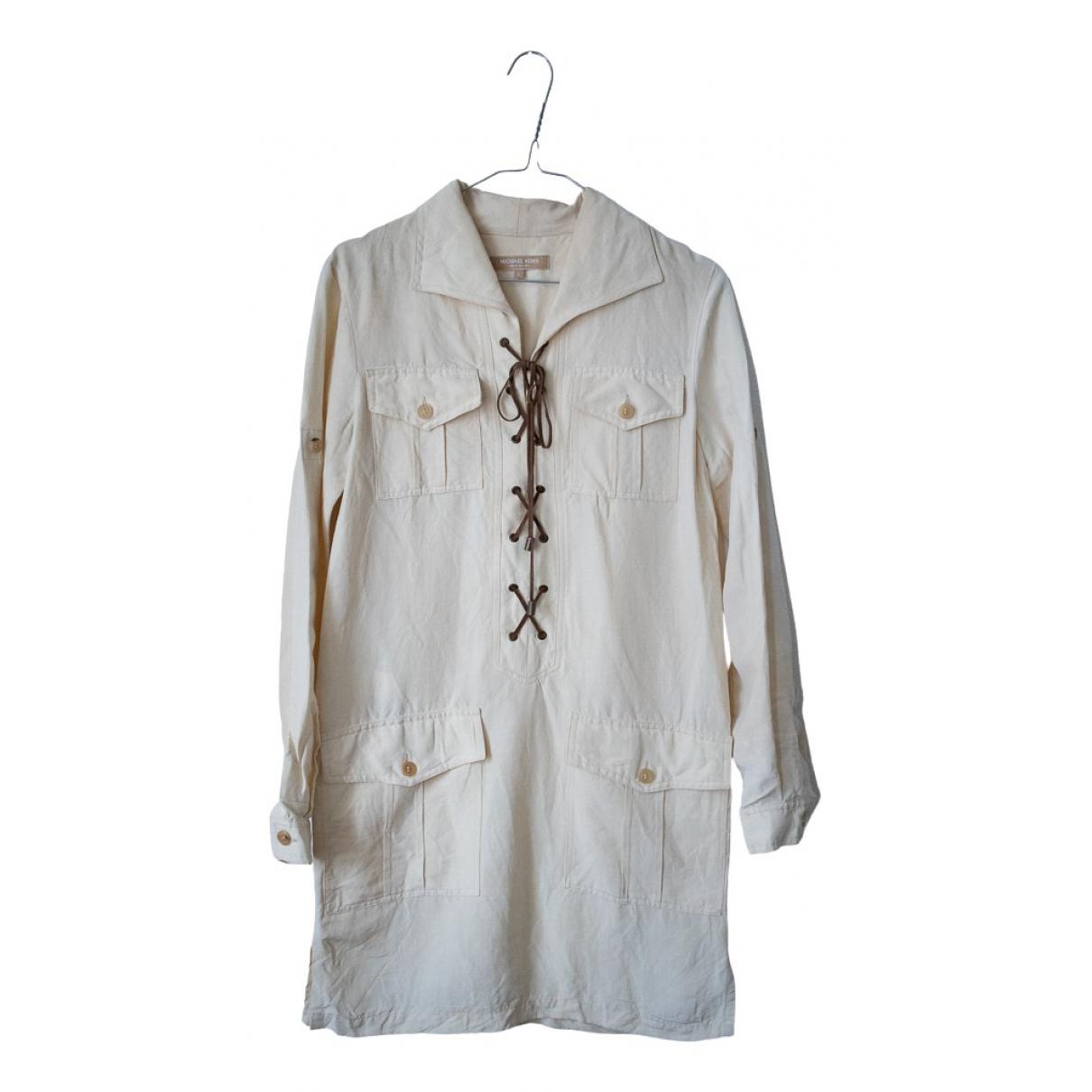 Michael Kors \N Kleid in  Beige Baumwolle