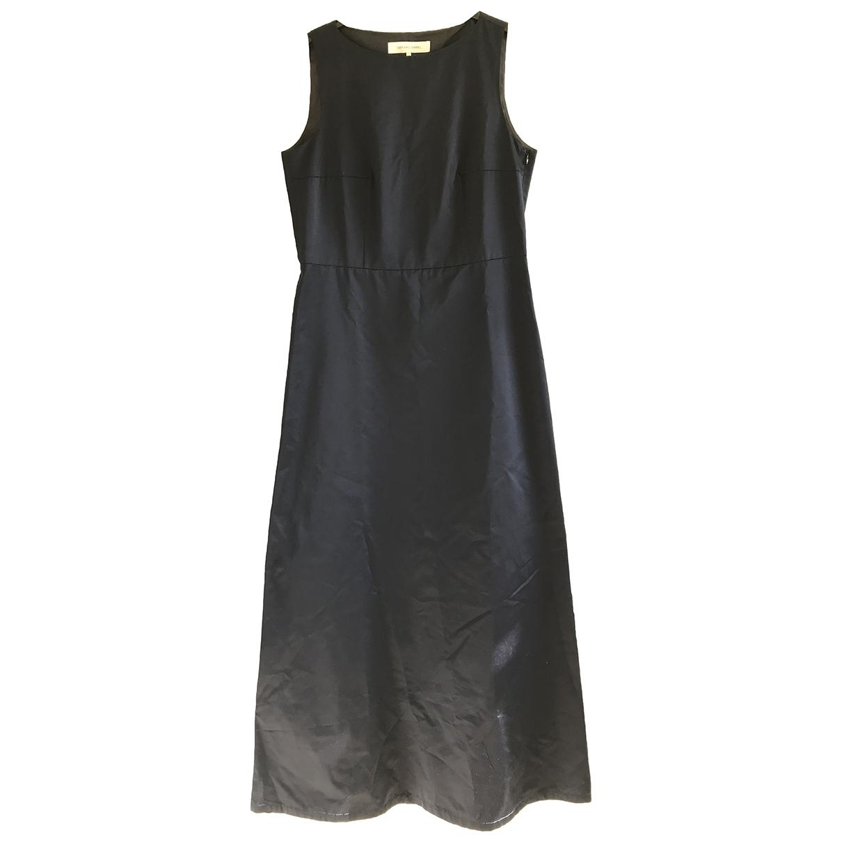 Gerard Darel \N Kleid in  Marine Baumwolle