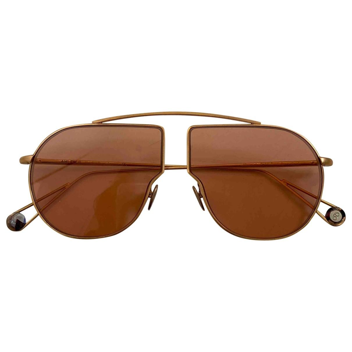 Ahlem \N Sonnenbrillen in  Rosa Metall