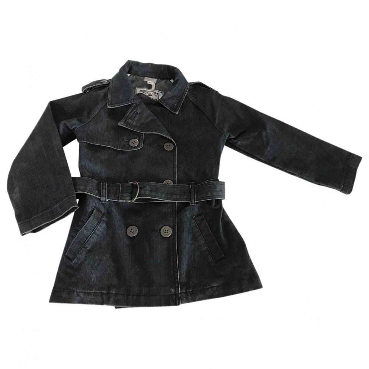 Cyrillus - Blousons.Manteaux   pour enfant en coton - bleu