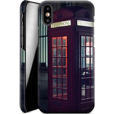 Apple iPhone X Smartphone Huelle - London Calling 2 von Ronya Galka