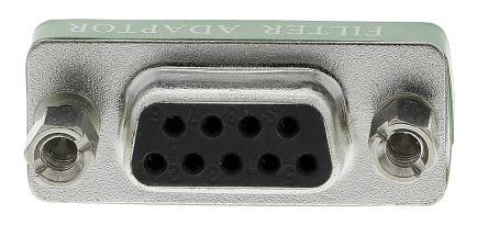 RS PRO 9 way filter D adaptor,5A 100Vdc 1000pF