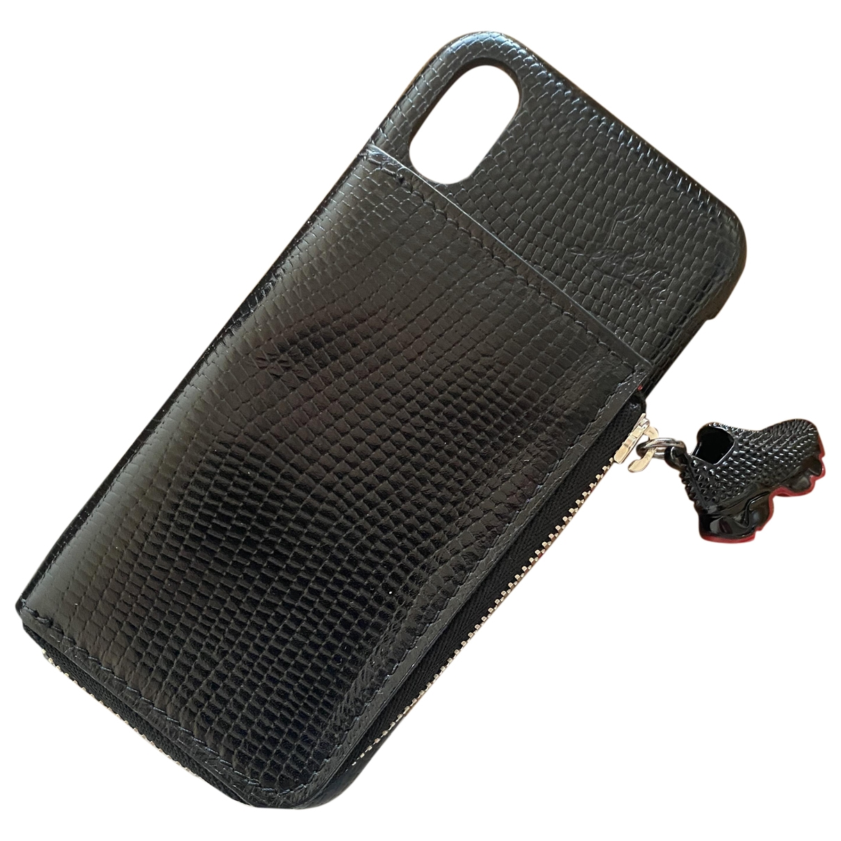 Funda iphone de Cuero Christian Louboutin