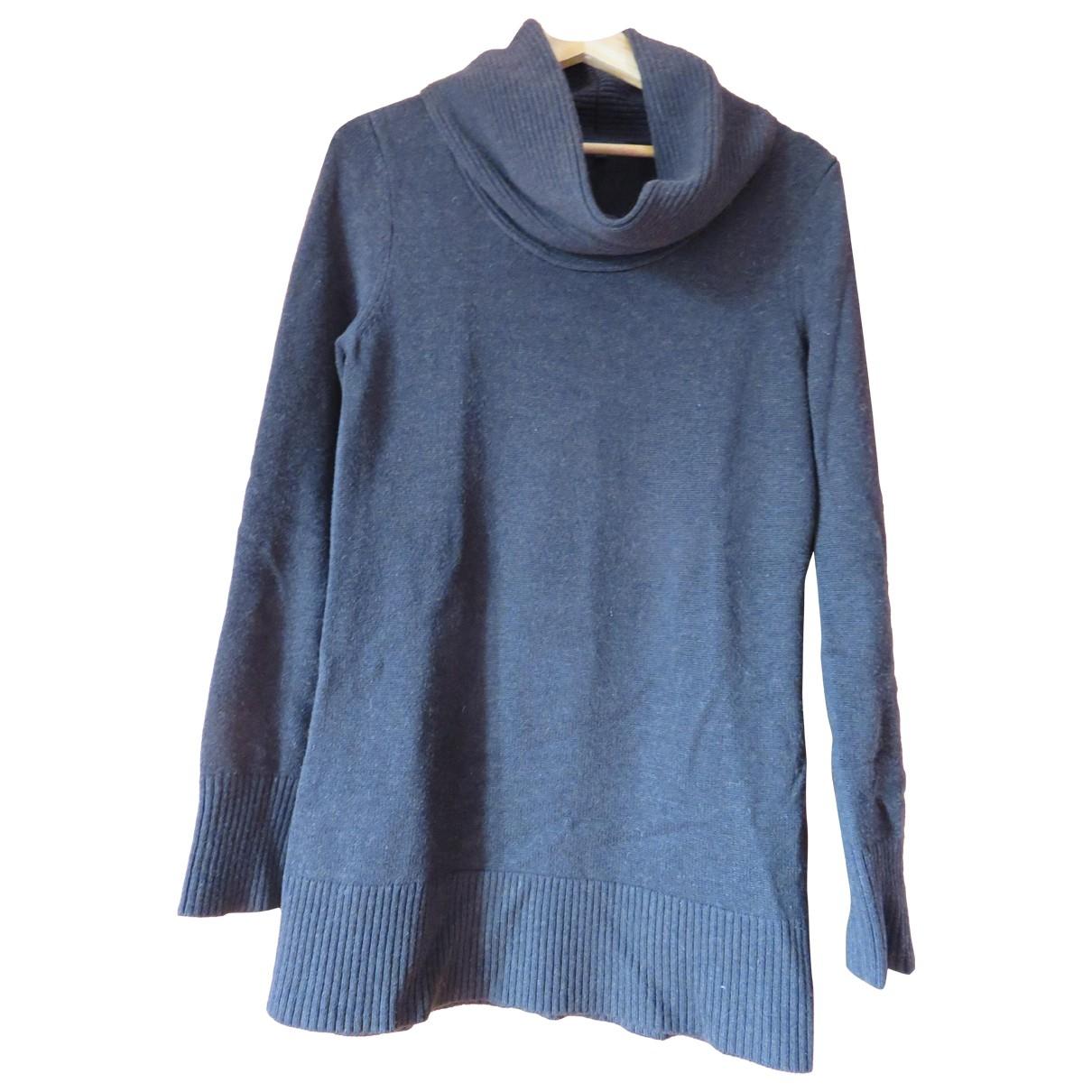 Tommy Hilfiger - Robe   pour femme en laine - marron