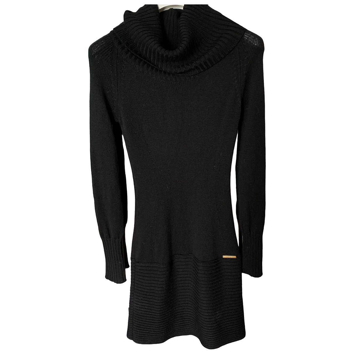 Flavio Castellani N Black Wool dress for Women 40 IT
