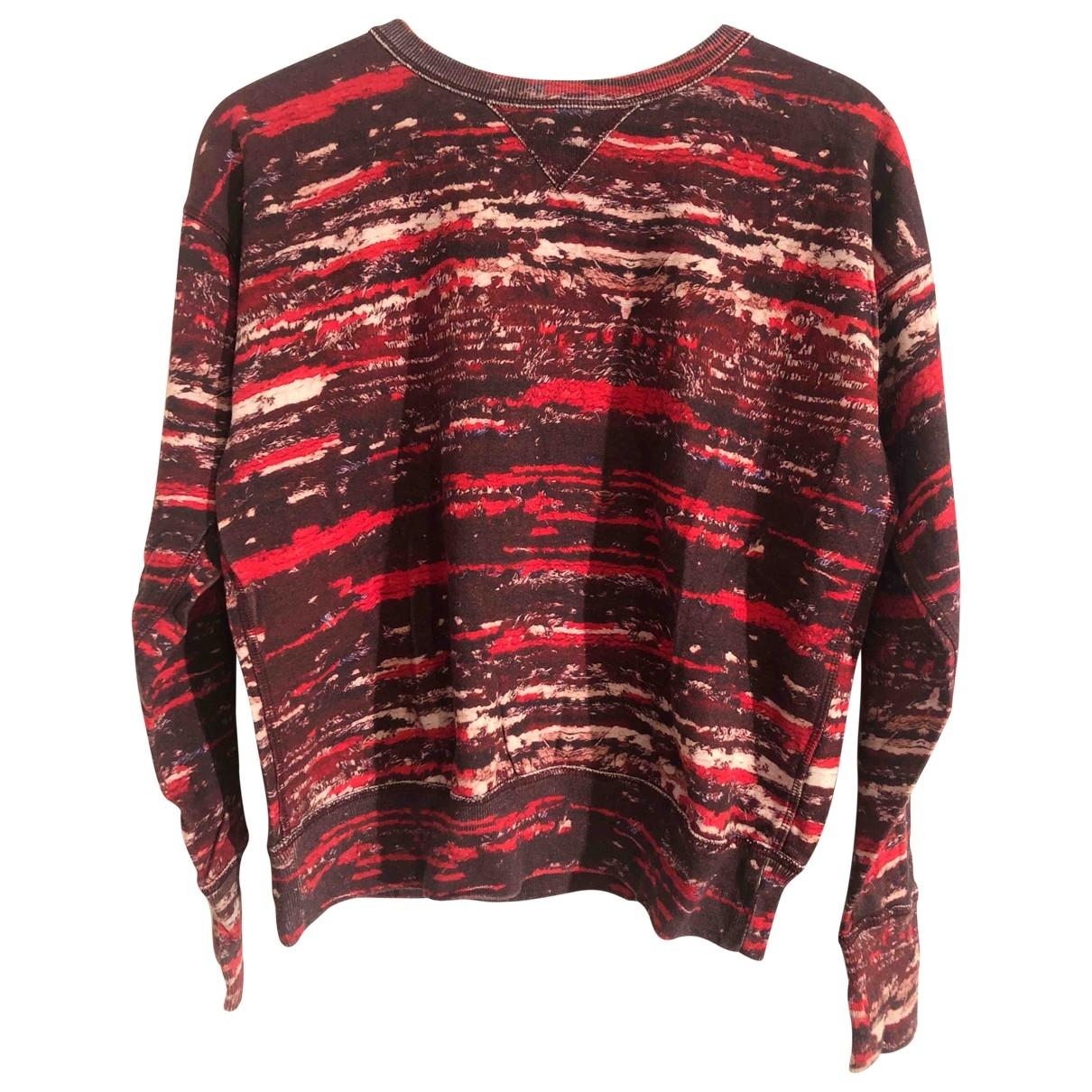 Isabel Marant Pour H&m - Pull   pour femme en coton - rouge