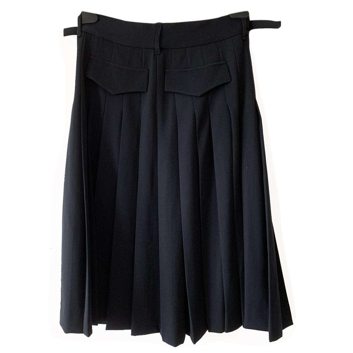 Gucci - Jupe   pour femme en laine - bleu