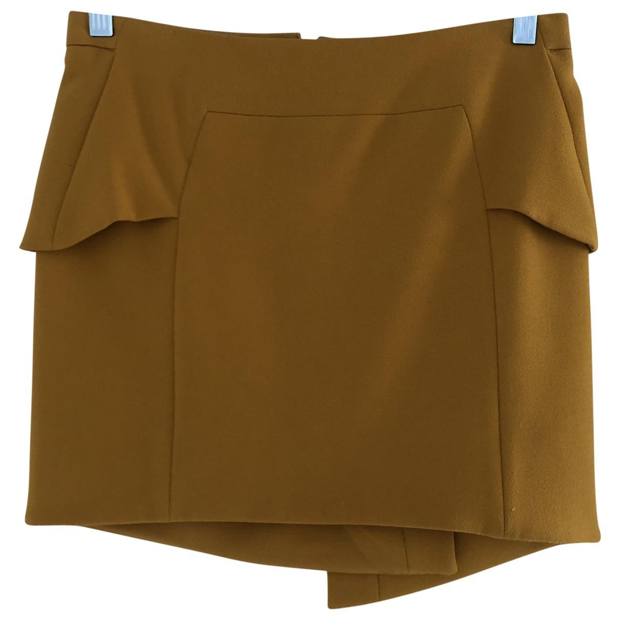 The Kooples - Jupe   pour femme - jaune
