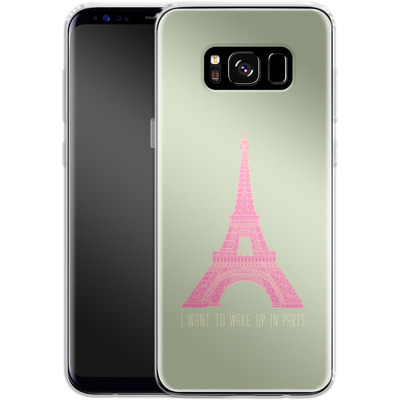 Samsung Galaxy S8 Silikon Handyhuelle - Oui Oui von Bianca Green