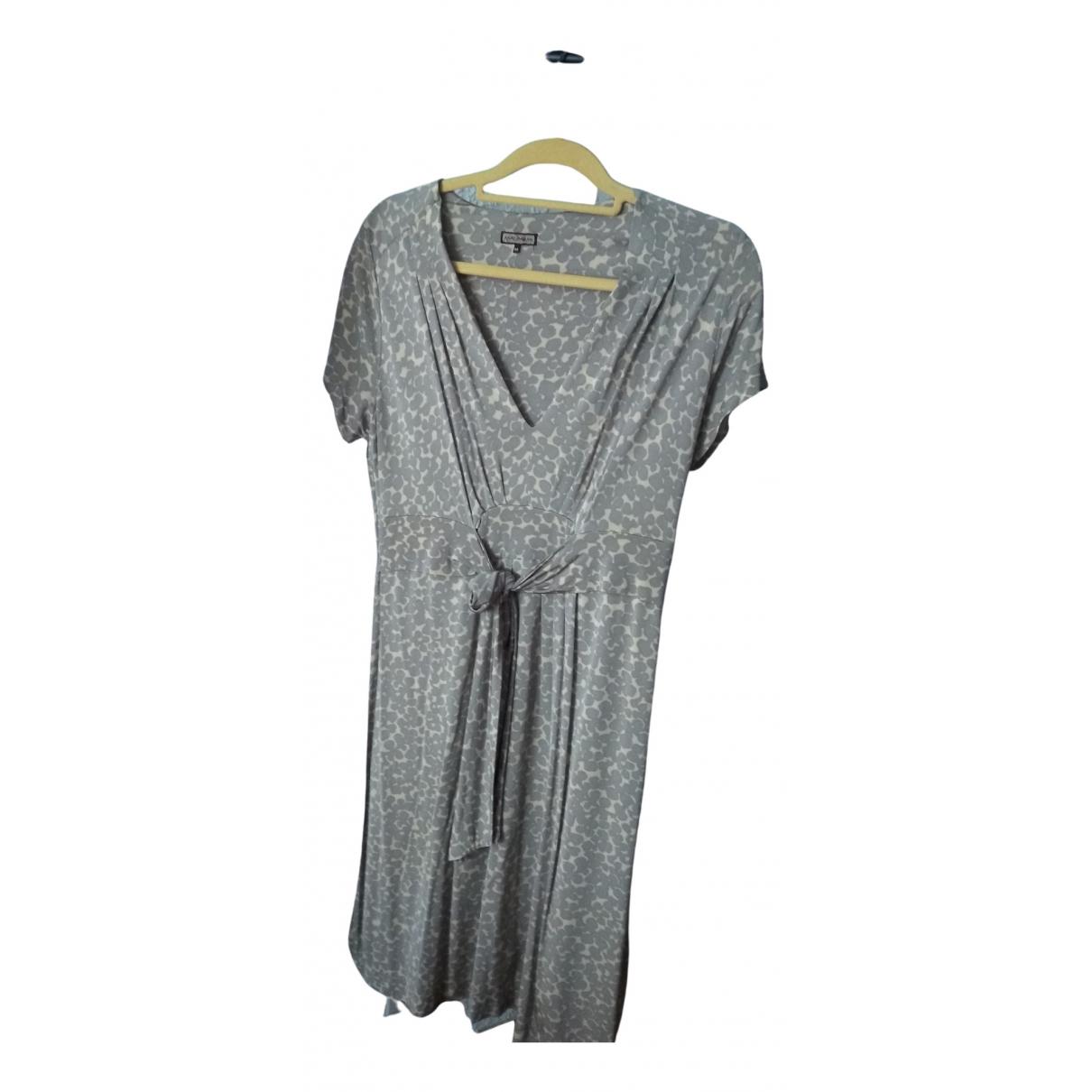 Maliparmi \N Kleid in  Grau Viskose