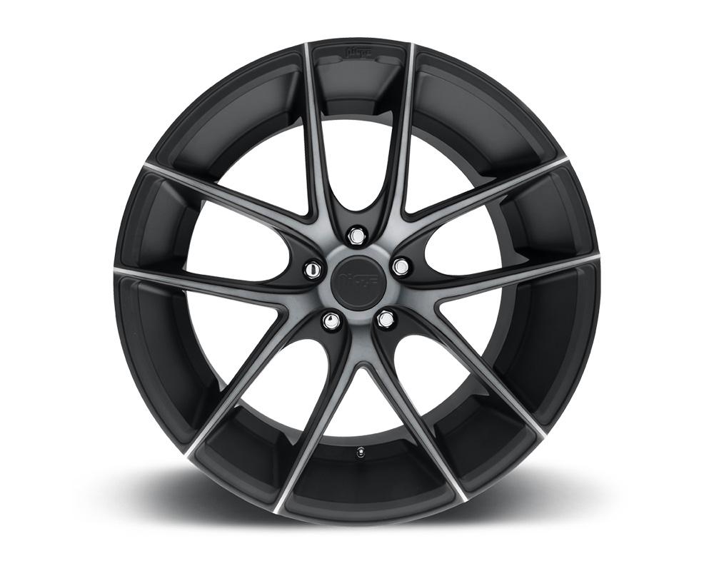 Niche M130 Targa Black & Machined w/ Dark Tint 1-Piece Cast Wheel 20x10 5x120 20mm