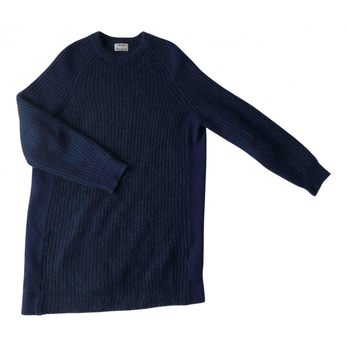 Acne Studios - Pull   pour femme en laine - marine