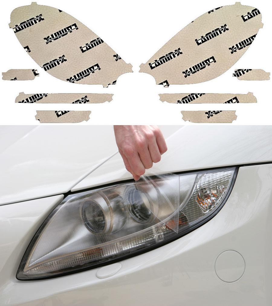 Porsche Macan GTS 16-18 Clear Headlight Covers Lamin-X P031CL