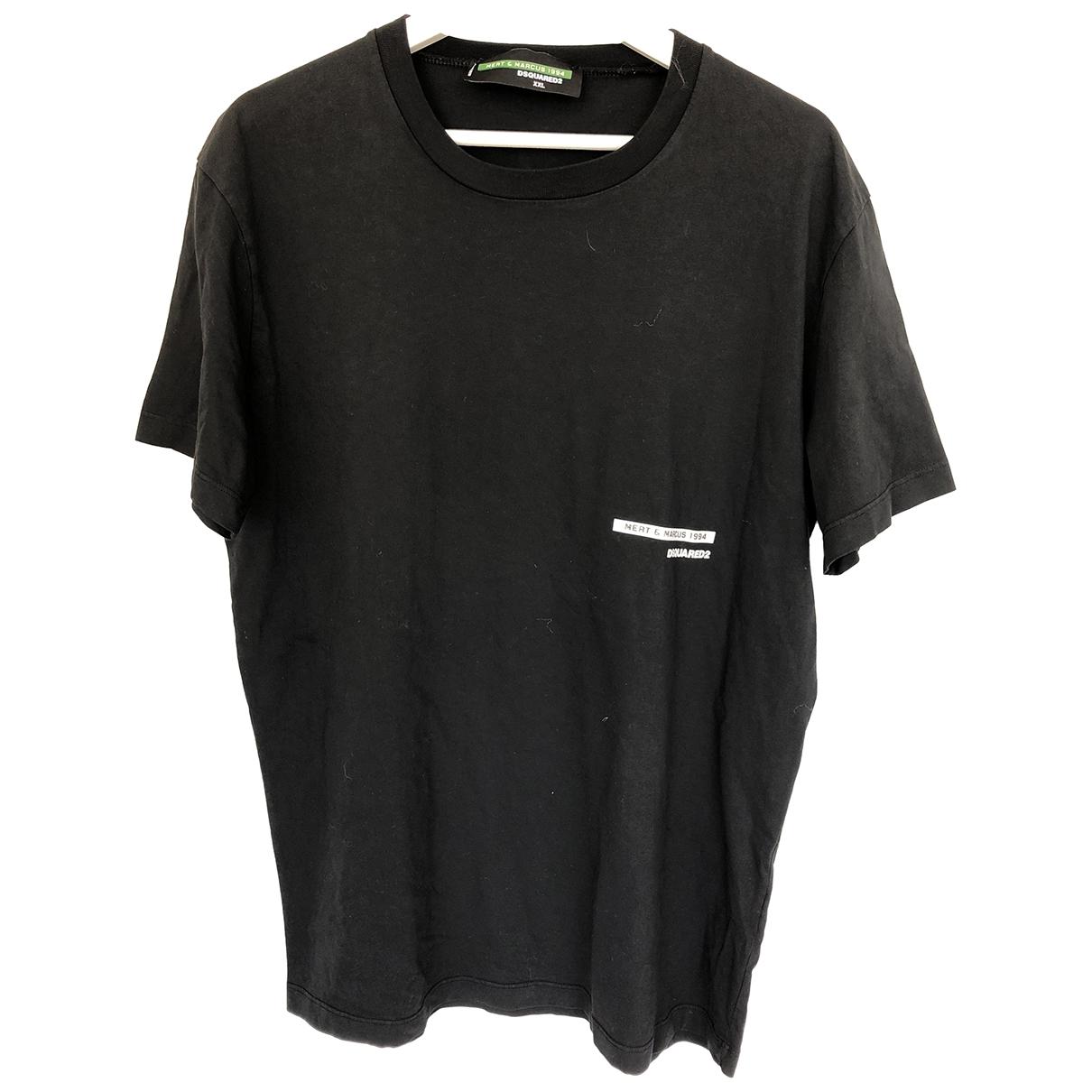 Dsquared2 \N T-Shirts in  Schwarz Baumwolle