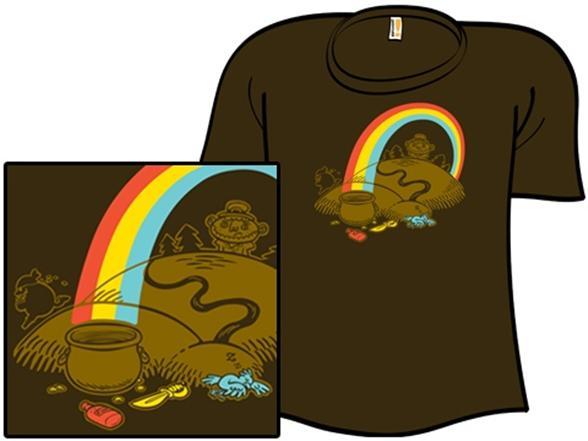 Luck Of The Arrrish T Shirt