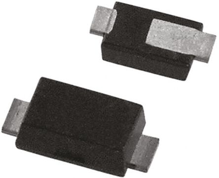 DiodesZetex Diodes Inc, 6.8V Zener Diode 5% 1 W SMT 2-Pin POWERDI123 (25)