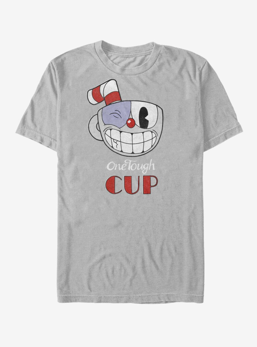 Cuphead Tough Cup Grin T-Shirt