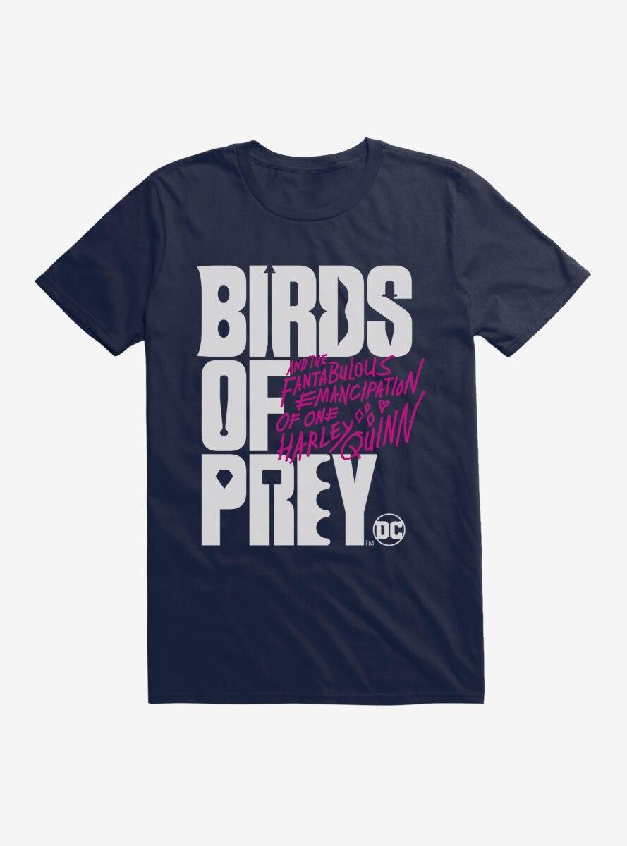 DC Comics Birds Of Prey Movie Title T-Shirt