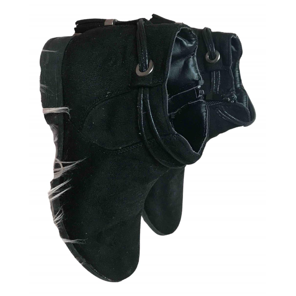 H&m Studio N Black Glitter Boots for Kids 38 FR