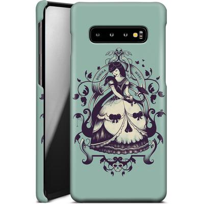 Samsung Galaxy S10 Plus Smartphone Huelle - Mrs Death von Enkel Dika