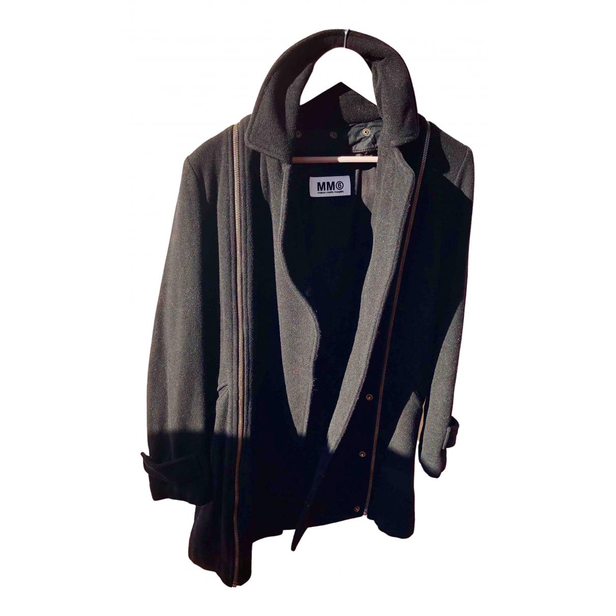 Mm6 - Veste   pour femme en cachemire - noir
