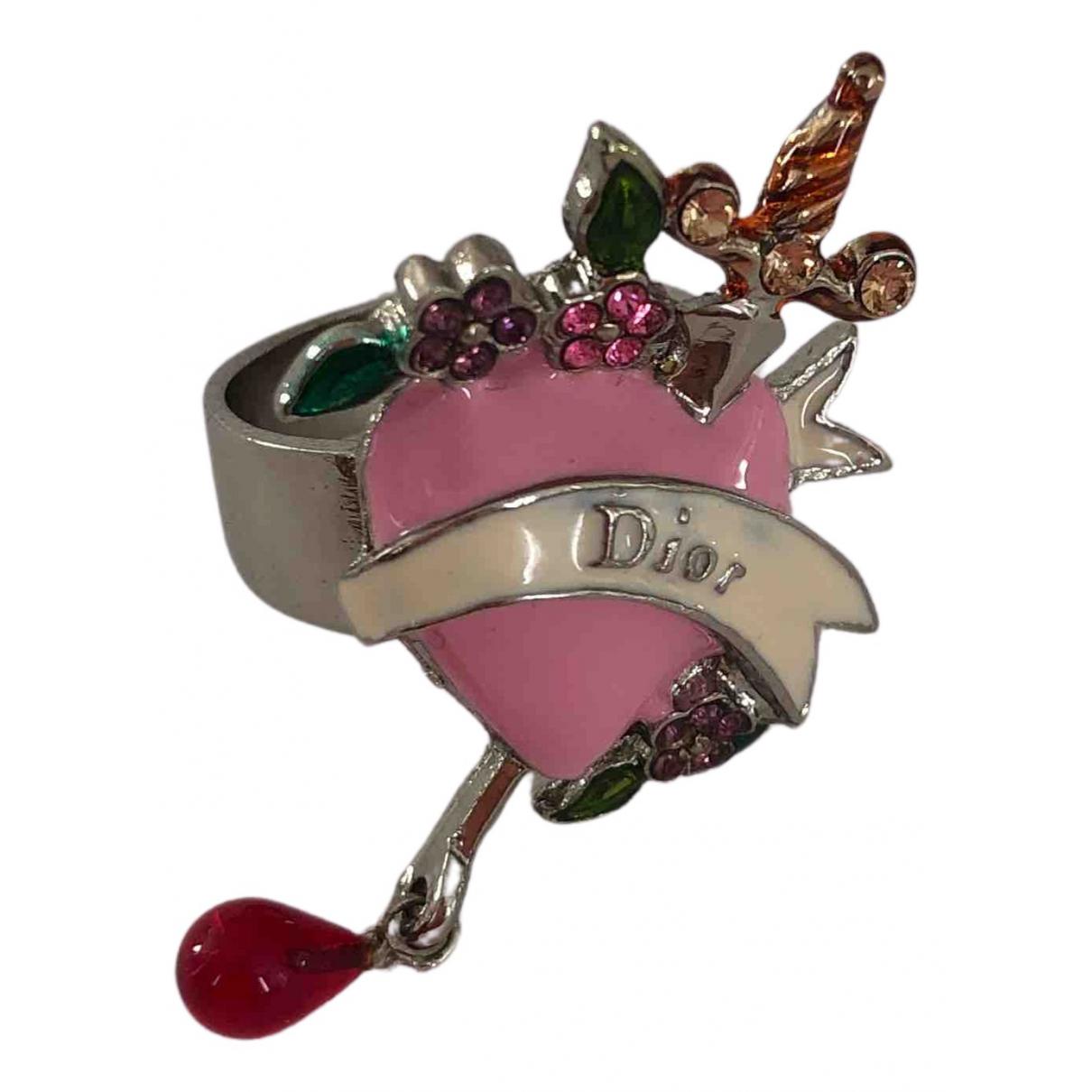 Dior - Bague   pour femme en metal - multicolore