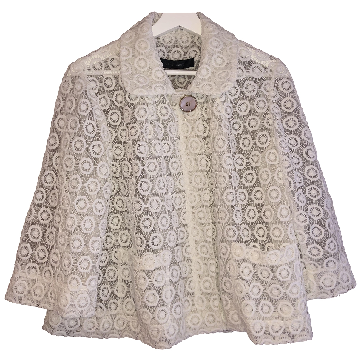 Elie Saab \N White jacket for Women 38 FR
