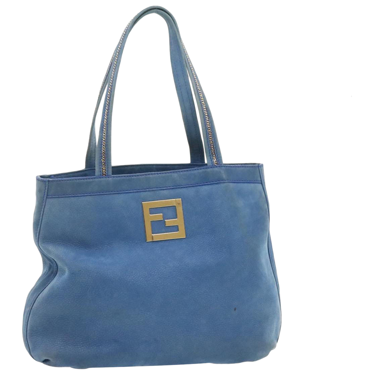 Fendi N Blue Leather handbag for Women N