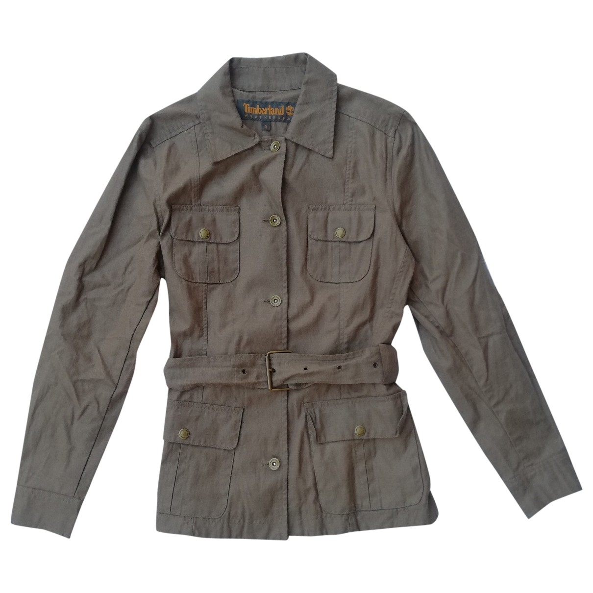 Timberland \N Brown Linen jacket for Women S International
