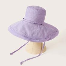 Drawstring Decor Bucket Hat