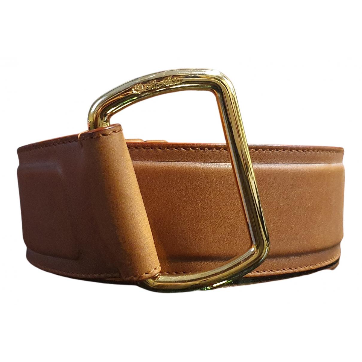 Cinturon de Cuero Loro Piana