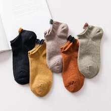 Vielfarbig Laessig Socken