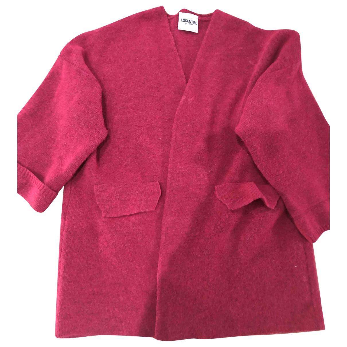 Essentiel Antwerp \N Pullover in  Rosa Polyester