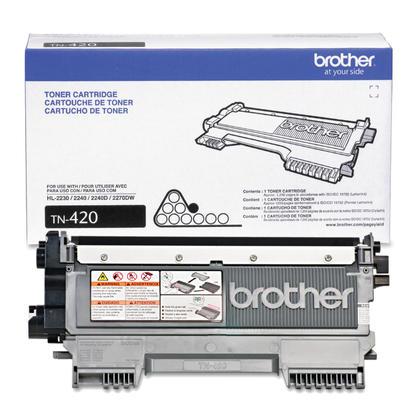 Brother TN420 Original Black Toner Cartridge